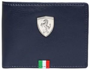 Puma Boys Red Genuine Leather Wallet