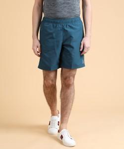 REEBOK Solid Men Blue Sports Shorts