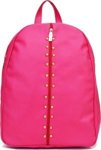 VIVARS PU Leather Backpack School Bag Student Backpack Women Travel bag 6 L Backpack