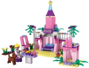 Pacific Toys Cogo Girls The Wizarding World Construction Set , Multi Color (178 Count