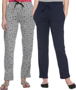 69GAL Self Design Women Multicolor Track Pants