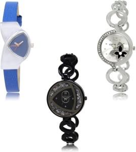 LOREM LK208-231-237 Awesome Designer Combo Watch  - For Women