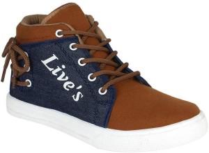 Longwalk Stylish Premium Canvas Sneakers Sneakers For Men
