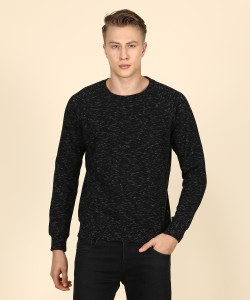 Pepe Jeans Full Sleeve Self Design Men Sweatshirt
