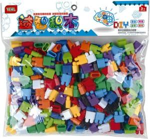 Sanyal Mini Bricks Blocks Toys for Kids Children Colorful Plastic Educational Bullet Building Block Models - ( Multi-color )