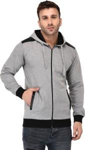 Vivid Bharti Full Sleeve Self Design Men's Sweatshirt