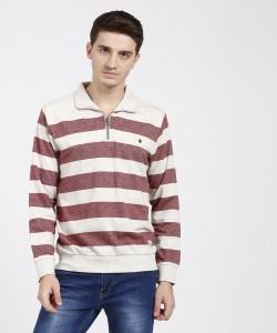 Duke Full Sleeve Colorblock Men Sweatshirt
