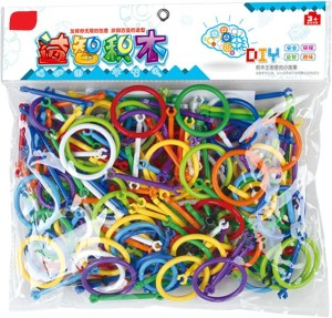 Sanyal Mini Bricks Blocks Toys for Kids Children Colorful Plastic Educational Smart Stick Building Block Models - ( Multi-color )