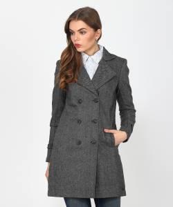U.S. Polo Assn Women Single Breasted Coat