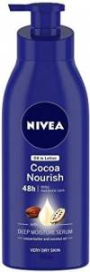 Nivea Cocoa Nourish Oil in Lotion