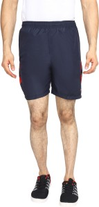 VEGA Solid Men Blue Sports Shorts