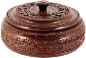 MartCrown Wooden chapati box casserole Serve Casserole