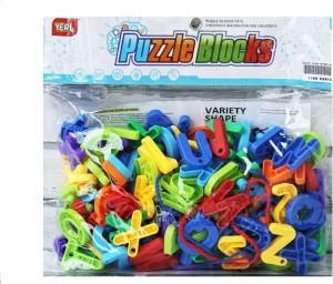 Sanyal Mini Bricks Blocks Toys for Kids Children Colorful Plastic Educational Saton Digital Building Block Models - ( Multicolor )