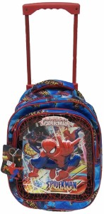 kaykon Spiderman Cabin Trolley Bag Kids School Bag Multi Purpose Luggage Bag For Kids Cabin Luggage - 20 inch
