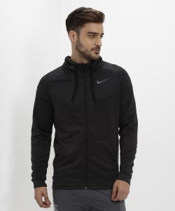 Nike Full Sleeve Self Design Men's Sweatshirt