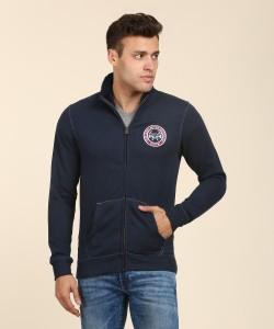 Pepe Jeans Full Sleeve Solid Men Sweatshirt
