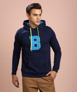 United Colors of Benetton Full Sleeve Applique Men Sweatshirt