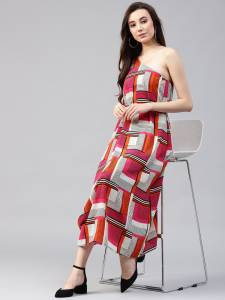 Zima leto Women Gown Multicolor Dress