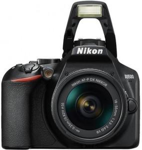 Nikon D3500 DSLR Camera Body with 18-55 mm f/3.5-5.6G VR & AF-P DX NIKKOR 70-300mm f/4.5-6.3G ED VR With 16GB + Carry Case