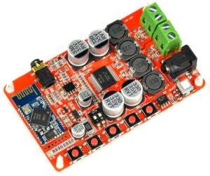 KitsGuru TDA7492P 50W + 50W CSR8635 Bluetooth 4 0 Audio Receiver Digital  Amplifier Board Electronic Components Electronic Hobby Kit