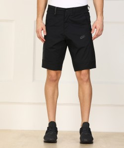 Nike Solid Men Black Sports Shorts