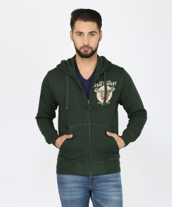 U.S. Polo Assn Full Sleeve Solid Men's Sweatshirt