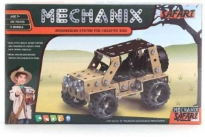 eEdgestore METAL MECHANIX SAFARi learn 5 model constructtion (Multicolor) Be the first to Review this product