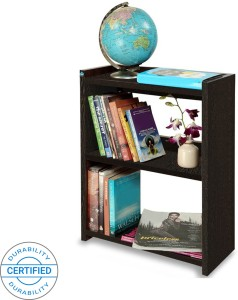 Delite Kom Blossom Rack Small Wenge Engineered Wood Open Book Shelf