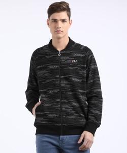 Fila Full Sleeve Printed Men Sweatshirt