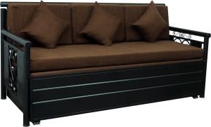 Swastik Furniture Double Metal Sofa Bed