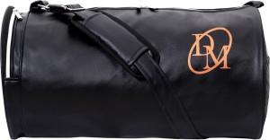 Dee Mannequin Black Leatherite Gym Bag