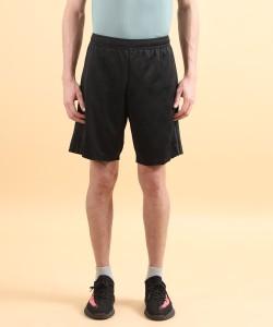 ADIDAS Solid Men Black Sports Shorts