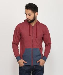 JOHN MILLER HANGOUT Full Sleeve Solid Men's Sweatshirt