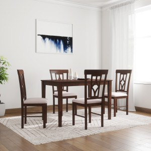 Flipkart Perfect Homes Langkawi Solid Wood 4 Seater Dining Set