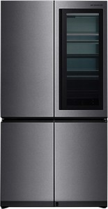 LG 984 L Frost Free Side by Side Refrigerator(Stainless Steel, GR-Q31FGNGL)