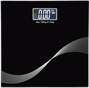 WDS PS120 Personal Body Weight Machine Weighing Scale(Black) Weighing Scale