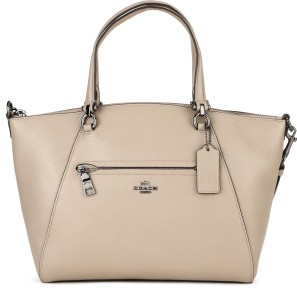 a8bb1a6cae Coach Women Casual Beige Genuine Leather Sling Bag