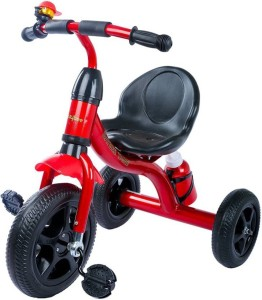 kayoksh BABY TRICYCLE FOR KIDS WITH BOTTLE RED COLOUR KIDS TRICYCLE RECOMMENDED TRICYCLE FOR BABY GIRL OR TRICYCLE FOR BABY BOY OR TRICYCLE FOR TODDLER GIRL OR TRICYCLE FOR TODDLER BOY RECOMMENDED FOR TODDLER 1,2,3,4,5 YEAR CHILDREN TRICYCLE FOR KIDS KY/RED/BLACK/BASKET/0101 Tricycle
