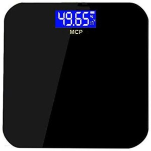 MCP Blue Backlight Digital Personal Weighing Scale Electronic Weight Machine For Human Body Weighing Scale