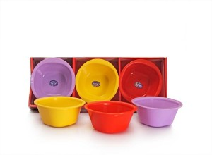 Tryviz Plastic Disposable Bowl Set