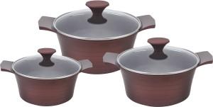 Wonderchef Pack of 3 Cook and Serve Casserole Set