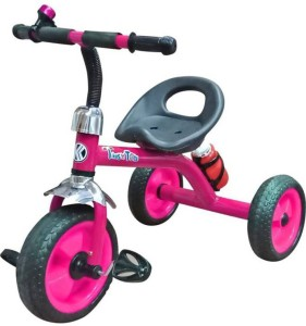 kayoksh BABY HUNNY BUNNY TRICYCLE PINK BLACK WITH BOTTEL /AD KY/PB/AD/022 Tricycle