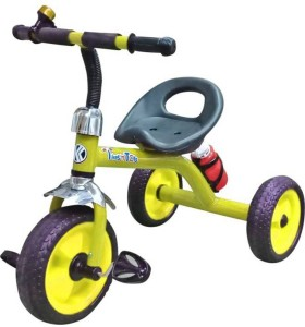 kayoksh BABY TRICYCLE FOR KIDS WITH BOTTLE YELLOW COLOUR KIDS TRICYCLE RECOMMENDED TRICYCLE FOR BABY GIRL OR TRICYCLE FOR BABY BOY OR TRICYCLE FOR TODDLER GIRL OR TRICYCLE FOR TODDLER BOY RECOMMENDED FOR TODDLER 1,2,3,4,5 YEAR CHILDREN TRICYCLE FOR KIDS KY/GB/AD/044 Tricycle