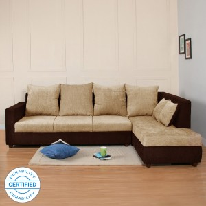 Flipkart Perfect Homes Porto Fabric 4 Seater  Sofa