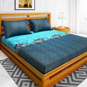 IWS 144 TC Microfiber Double Printed Bedsheet