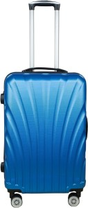 3g 8016 Combact Series Blue Hard Sided Travel trolley Suitcase 55 cms/ 20inch Cabin Luggage - 20 inch