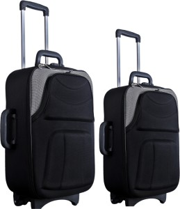 Nuremberg Set of 2 Suitcase Trolley /Travel/ Tourist Bag Check-in Luggage - 24 inch