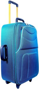 New Jersey Travellers Safari Style /Travel/ Tourist Bag/Suitcase Trolley Cabin Luggage - 20 inch