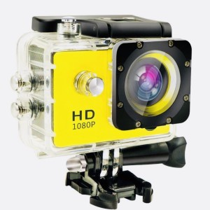 nick jones 1080 P action camera 1080P 2-inch LCD 140 Degree Wide Angle Lens Waterproof Diving Sports and Action Camera , ACTION GO PRO APC28 (MULTICOLOUR) Sports and Action Camera