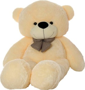 Stuffiez SOFT AND HUGGABLE CREAM TEDDY BEAR 24in  - 20 mm